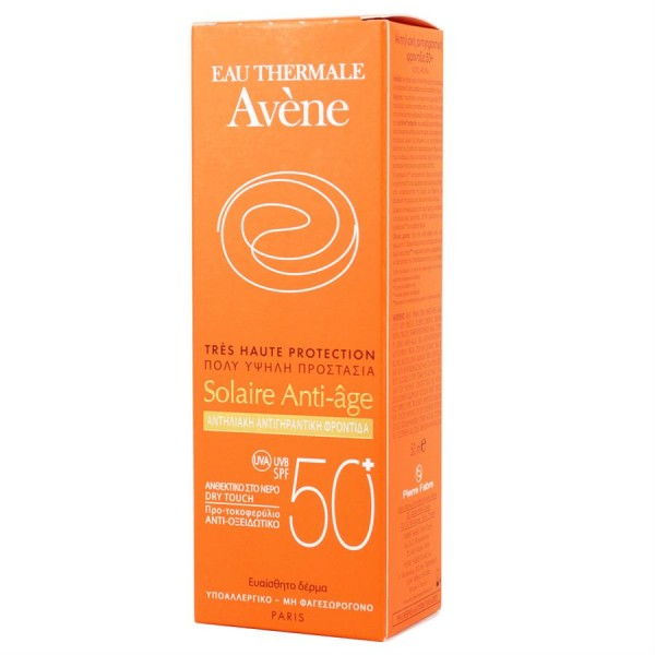 avene creme solaire anti age 50 ml pharmacycosmos. Black Bedroom Furniture Sets. Home Design Ideas