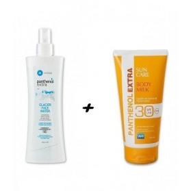 Medisei Panthenol Extra Body Milk SPF30 & Glacier Face Water