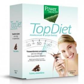 POWER HEALTH TOP DIET CHOCOLATE 10 ΦΑΚΕΛΑΚΙΑ