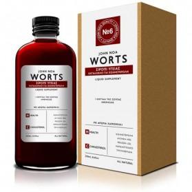 John Noa Worts Worts Νο6 Σιρόπι Υγείας Κατάλληλο για Χοληστερόλη 250ml