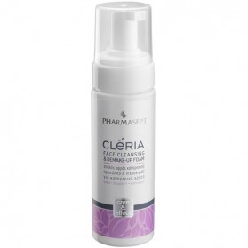PHARMASEPT CLERIA FACE CLEANSING & DEMAKE-UP FOAM 150ml