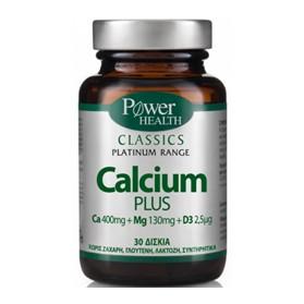 POWER HEALTH CLASSICS PLATINUM RANGE CALCIUM PLUS 30s