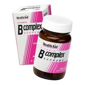 HEALTH AID B COMPLEX 30CAPS