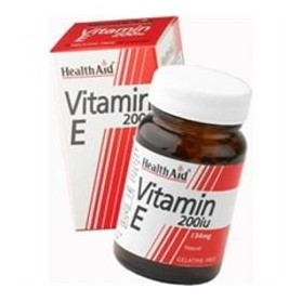 HEALTH AID VITAMIN E 200IU 134MG 60CAPS