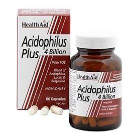 HEALTH AID ACIDOPHILUS PLUS 60CAPS