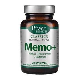 POWER HEALTH CLASSICS PLATINUM RANGE MEMO+ 30s