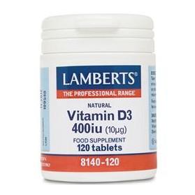LAMBERTS VITAMIN D 400iu 120tabs