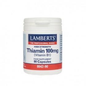 LAMBERTS THIAMIN 100mg (VIT B1) 90caps