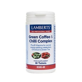 LAMBERTS PURE GREEN COFFEE EXTRACT-CHILLI 60TABS