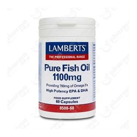 LAMBERTS PURE FISH OIL 60CAPS