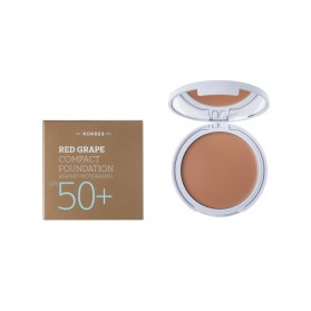 KORRES RED GRAPE FOUNDATION SPF 50+ LIGHT SUNGLOW 1 ΑΝΤΙΗΛΙΑΚΗ ΠΟΥΔΡΑ