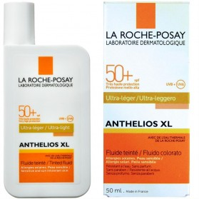 LA ROCHE POSAY ANTHELIOS XL ULTRA LIGHT FLUID TINTED SPF50+ 50ML
