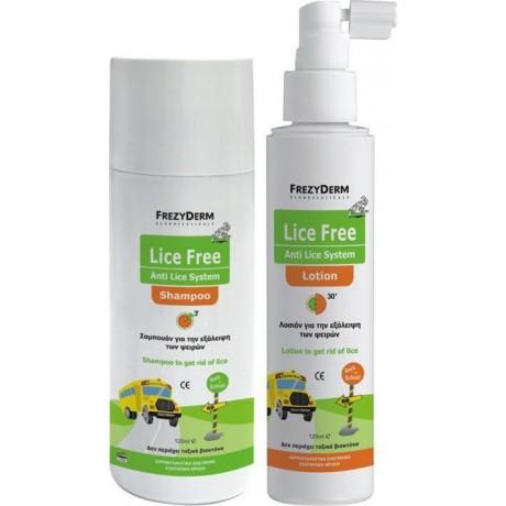 FREZYDERM LICE FREE System set