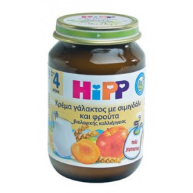 HIPP BABY MEAL FRUIT CREAM SEMOLINA 190gr