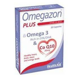 HEALTH AID OMEGAZON PLUS Ω3+CoQ10 30CAPS