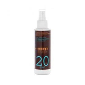 KORRES - SUN CLEAR WALNUT&COCONUT SPF20