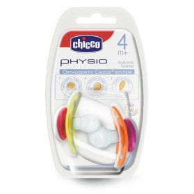 Chicco Physio 4m+ ΠΙΠΙΛΑ 2τμχ