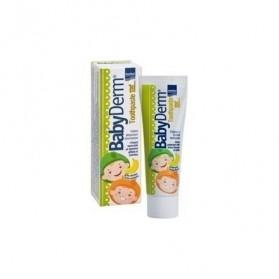 Babyderm Toothpaste Γεύση Μπανάνα 50ml