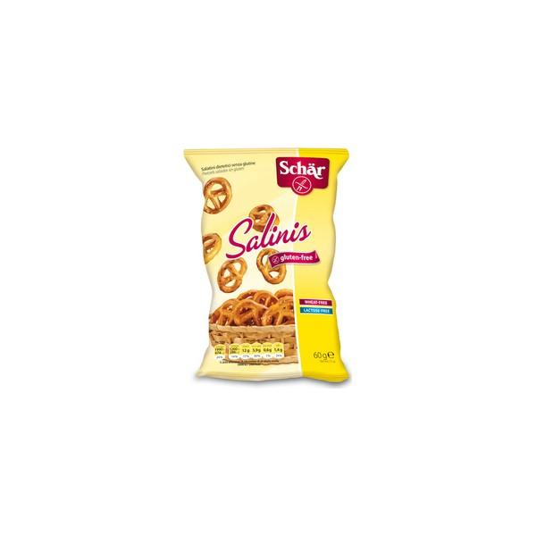 Schär Snack Salty pretzel 60gr Salinis - PharmacyCOSMOS