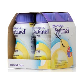 Fortimel Extra 4 x 200ml Φράουλα
