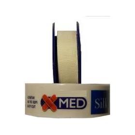 X-med silk 5x1.25 Αυτοκόλλητη Επιδεσμική Ταινία Μετάξι
