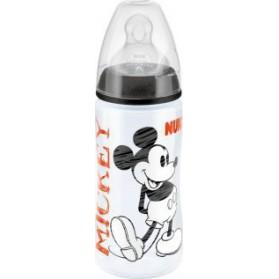 Nuk First Choice Disney Mickey Μπιμπερό Θηλή Σιλικόνης, 300ml