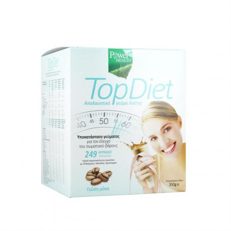 POWER HEALTH TOP DIET MOCHA/MOCCA 10 ΦΑΚΕΛΑΚΙΑ