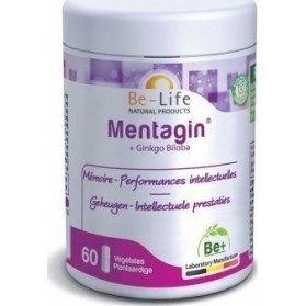 Be-Life Mentagin & Ginkgo Biloba 60 κάψουλες
