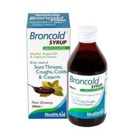 Broncold σιρόπι Healthaid 200ml