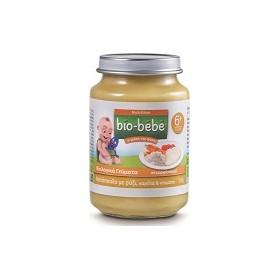 Bio-Bebe Βιολογική Βρεφική Τροφή Κοτόπουλο με Ρύζι