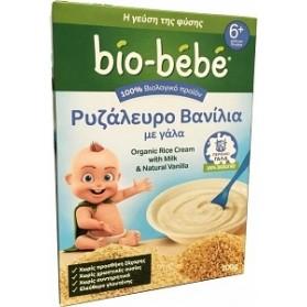 Bio-Bebe Ρυζάλευρο Βανίλια με Γάλα 200gr Vanilla-Milk