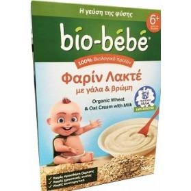 Bio-Bebe Φαρίν Λακτέ με Γάλα & Βρώμη 200gr / Milk & Oat
