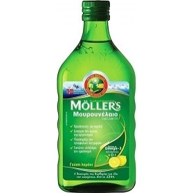 Moller's Cod Liver Oil 250ml lemon
