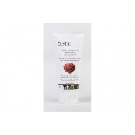 Sostar Face Mask with Organic Clay & Rosemary 75ml