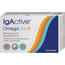 IgActive Omega 3-6-9 30 μαλακές κάψουλες