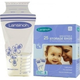Lansinoh Breastmilk Storage Bags 180ml, 25tmch