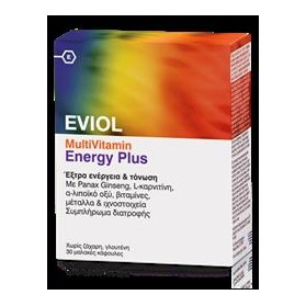Eviol multivitamins energy plus