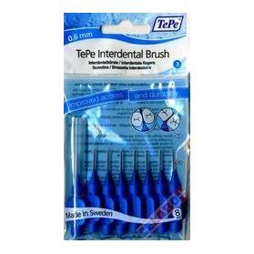 TEPE Interdental Brush 0,6 ΜΠΛΕ