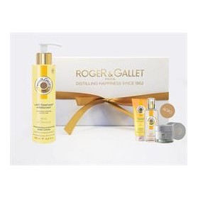 Roger & Gallet Bois d 'Orange Body Lotion 200ml PACK & GIFT Gel Douche 50ml & Herb Cream Acquaintance Size