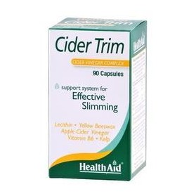 HEALTH AID CIDER TRIM Cider vinegar 90caps