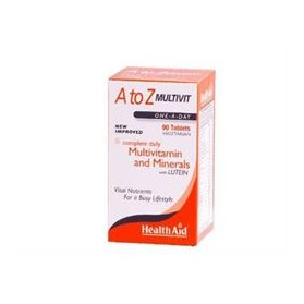 HEALTH AID A TO Z MULTIVITAMIN 90 TABS