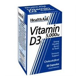 HEALTH AID VITAMIN D3 5000IU