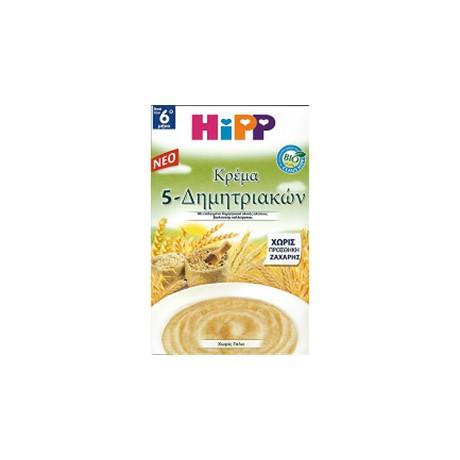 HIPP ΚΡΕΜΑ 5 ΔΗΜΗΤΡΙΑΚΩΝ