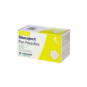 ΒΕΛΟΝΕΣ glucoject pen needles 4mm