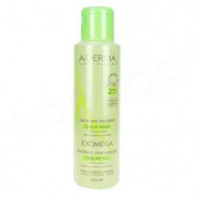 A-Derma Exomega Gel Lavant Emollient 2 in 1 200ml