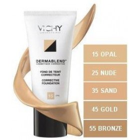VICHY DERMABLEND FLUID No35 & SA NORMADERM GEL
